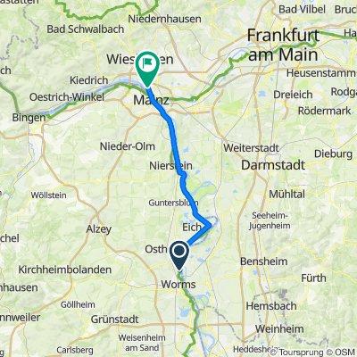 Etappe 4 - Wiesbaden