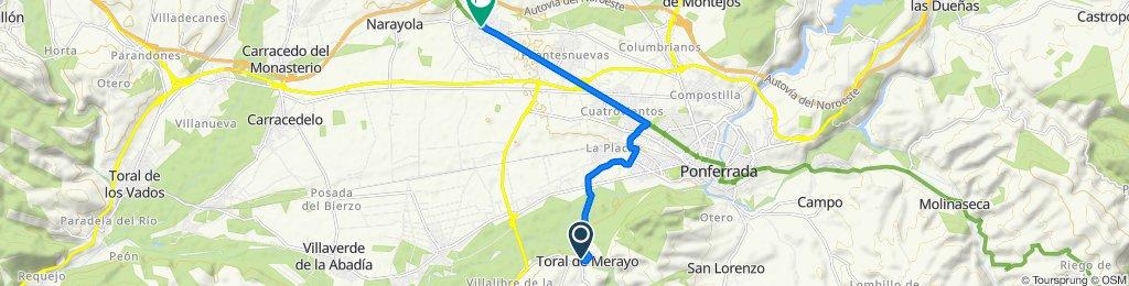 De Calle S.N.5 299, Toral de Merayo a Avenida España 7, Camponaraya