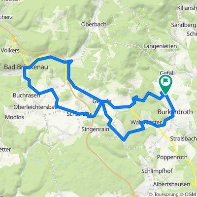 Stangenroth - Brückenau - Stangenroth