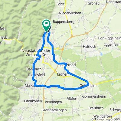 Weinstraßen Rund 37km
