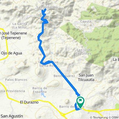 Paseo lento en Pachuca de Soto