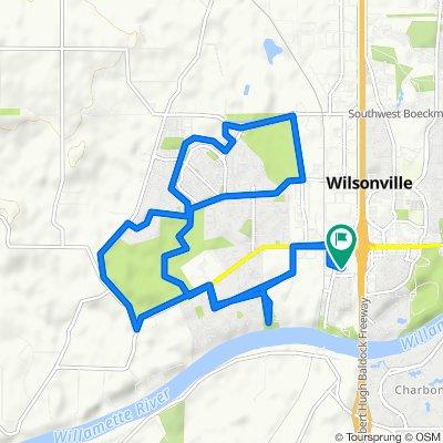 30300 SW Boones Ferry Rd, Wilsonville to 30300 SW Boones Ferry Rd, Wilsonville