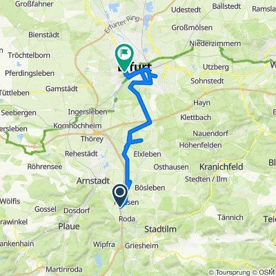 K27, Wipfratal nach Gothaer Straße 4, Erfurt