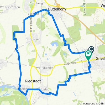 Marions Wunschroute