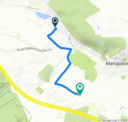 Moderate route in Marcoussis