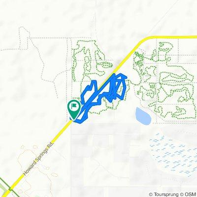 Steady ride in Howard Springs
