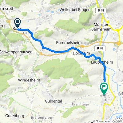 Am Stemel 8, Roth nach Heddesheimer Straße 7, Langenlonsheim