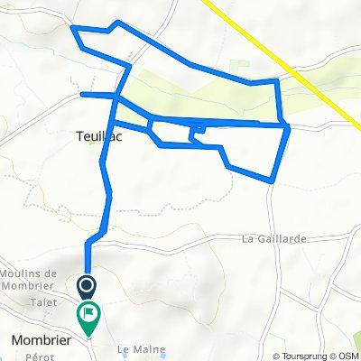 Itinéraire facile en Mombrier