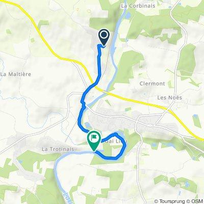 Itinéraire modéré en Saint-Senoux