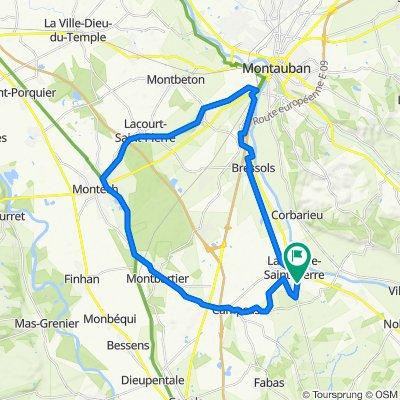 De 641C Avenue Jean Moulin, Labastide-Saint-Pierre à 641C Avenue Jean Moulin, Labastide-Saint-Pierre