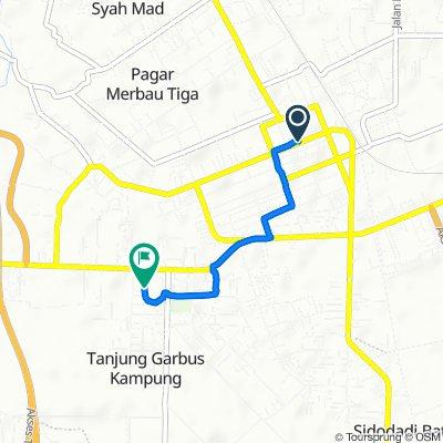 Jalan Doktor Sutomo 46, Kecamatan Lubuk Pakam to Jalan Medan - Tebing Tinggi, Kecamatan Pagar Merbau