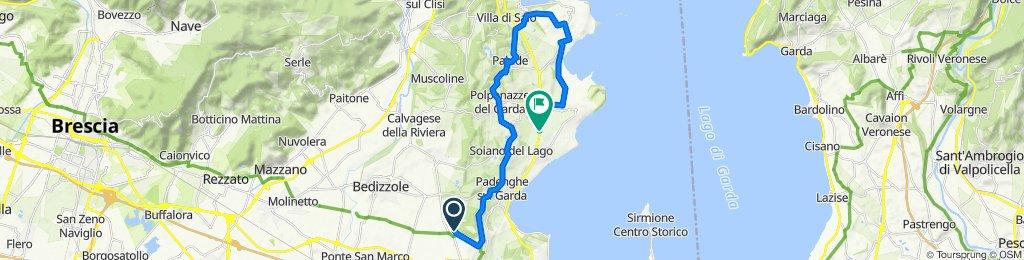 Steady ride in Moniga Del Garda