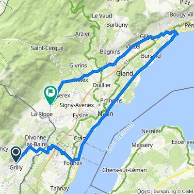 Visite rapide en Divonne-les-Bains