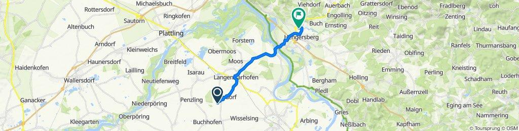Am Königsholz 25, Buchhofen nach Hauptstraße 12, Hengersberg