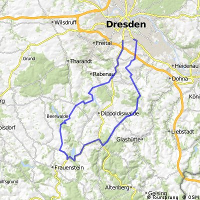 dd - wilde weißeritz - röthenbach - schmiedeberg - hirchbachtal