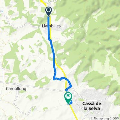 Ruta tranquila en Girona