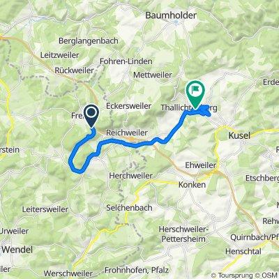 Easy ride in Ruthweiler
