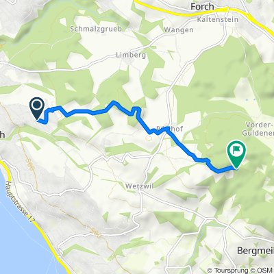 Erlenbach > Meilener Dorfbach Start