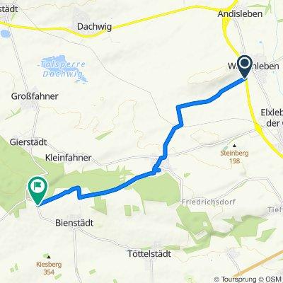 B4, Walschleben nach L1044, Bienstädt