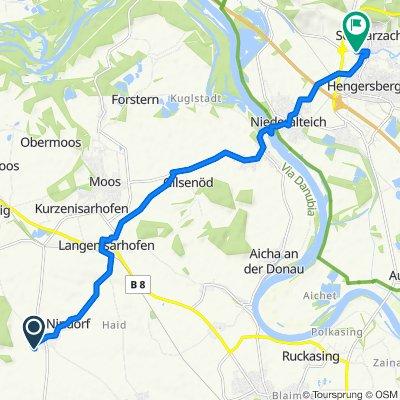 Langsame Fahrt in Buchhofen