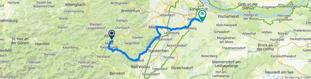 Alland-Zobelhof -Eisernes Tor- Biedermannsdorf