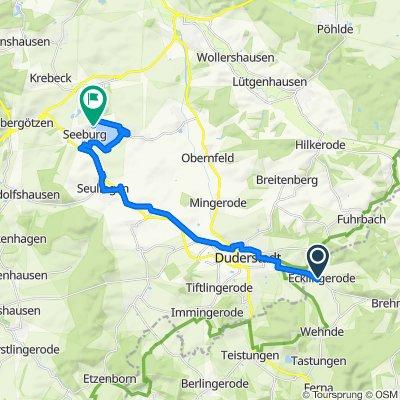 Friedensplatz 1A, Ecklingerode nach Wollbrandshäuser Straße 6, Seeburg