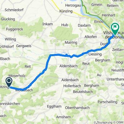 Unterbubach 9A, Johanniskirchen nach Stadtplatz 38, Vilshofen an der Donau
