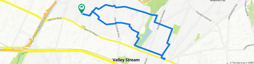 Steady ride in Valley Stream