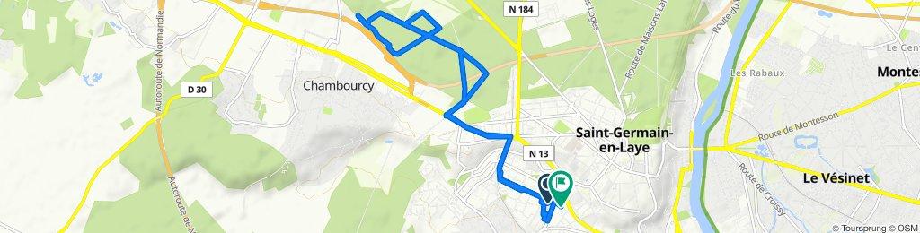Itinéraire modéré en Saint-Germain-en-Laye