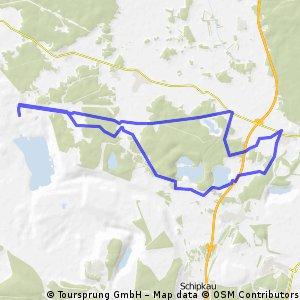 Rundtour zur Förderbrücke F60 in Lichterfeld