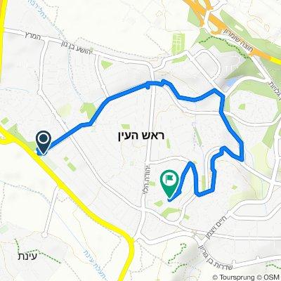 Ruta a Ramat ha-Golan Street 68, Rosh Haayin