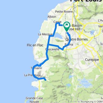 Route from Ratsitatane Avenue, Beau Bassin-Rose Hill