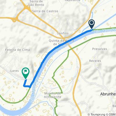 Restful route in Figueira da Foz