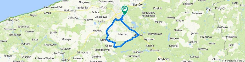 Zrelaksowana trasa w Koszalin