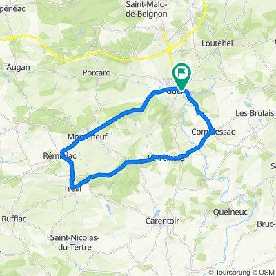 Monteneuf - Reminizc - Tréal - la Telhaie - Comblessac