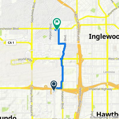 Moderate route in Los Angeles