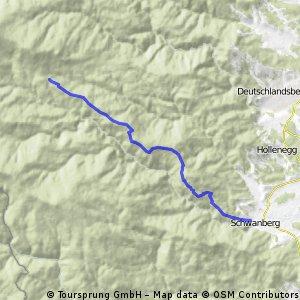 Bergtour Schwanberg - Glashütten