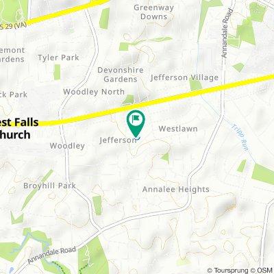 6933 Westmoreland Rd, Falls Church to 6933 Westmoreland Rd, Falls Church