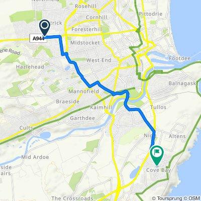 Easy ride in Aberdeen