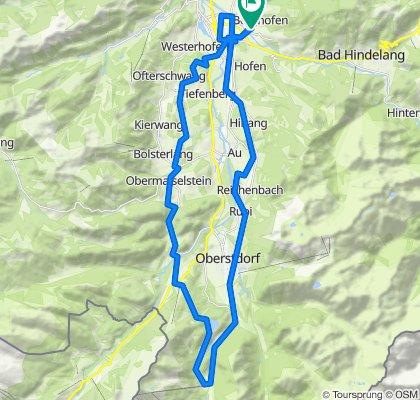 Fellhornbahn und zurück