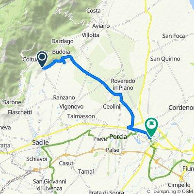 Da Via Pordenone 11, San Giovanni a Viale Trieste 11, Pordenone