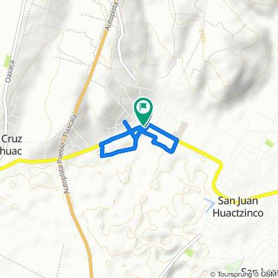 De 5 de Mayo 5, San Jerónimo Zacualpan a 5 de Mayo 5, San Jerónimo Zacualpan