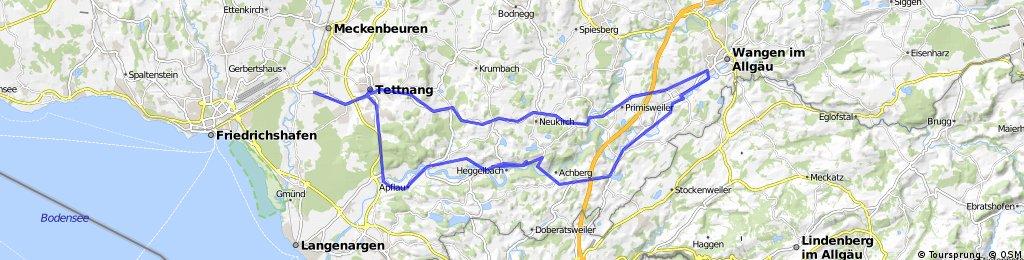 Tettnang - Wangen - Tettnang