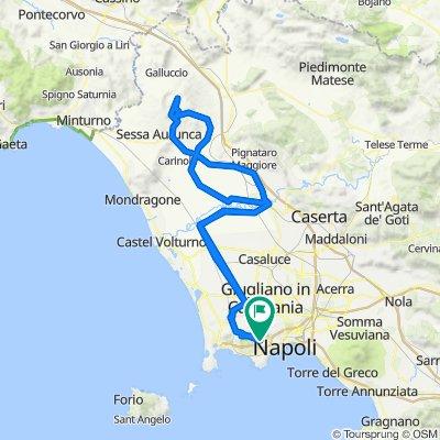 Roccamonfina via Teano, Valogno, Napoli