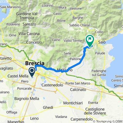 Da Via del Rione 36, Folzano a Località Campei, Gavardo