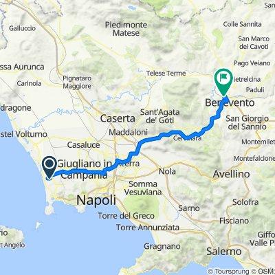 Da Via Vicinale Rannola 59, Masseria Vecchia a Via Vitulanese, Benevento