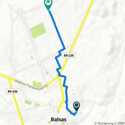 De Rua Isaac Martins, 415, Balsas a Rua Prudente de Moraes, 662–756, Balsas