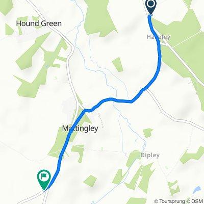 Plough Lane, Hook to Cowfold Lane, Hook