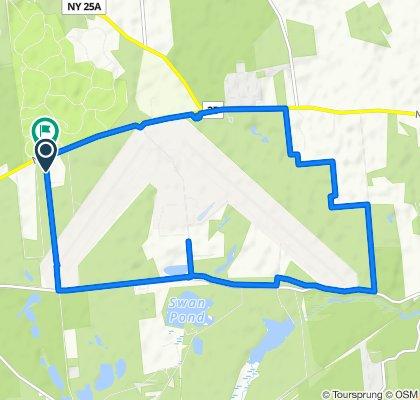 Relaxed route in Calverton