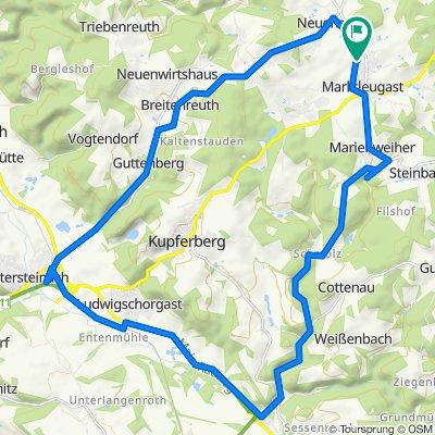 Wirsberg, Untersteinach, Guttenberg, Marktleugast
